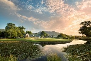 Fancourt Clubhouse from Montagu Golf Course